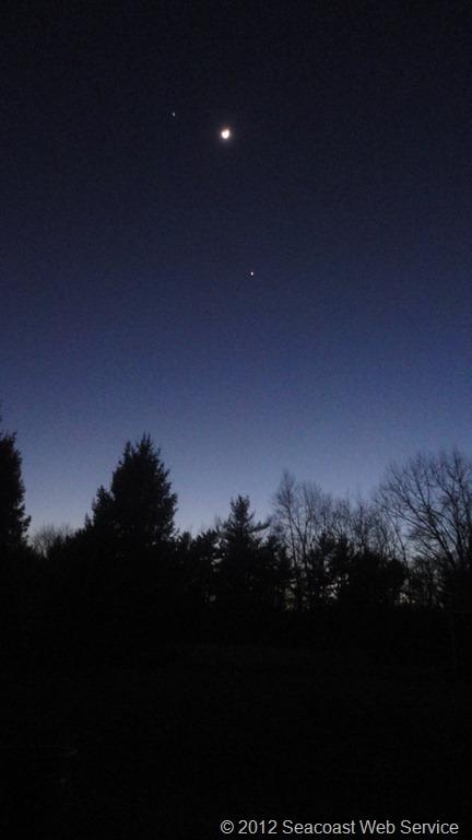 Venus-Moon-Jupiter
